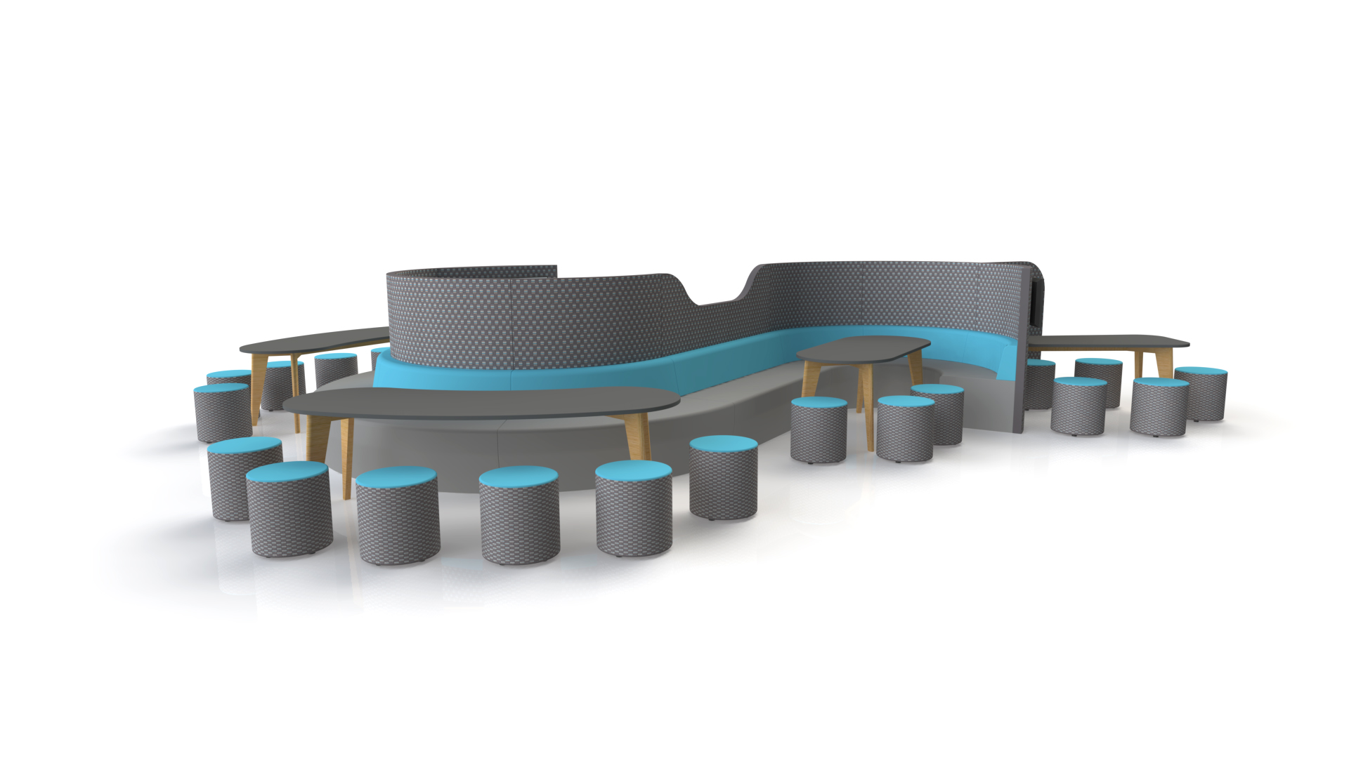Curved Seating Meet Media v2