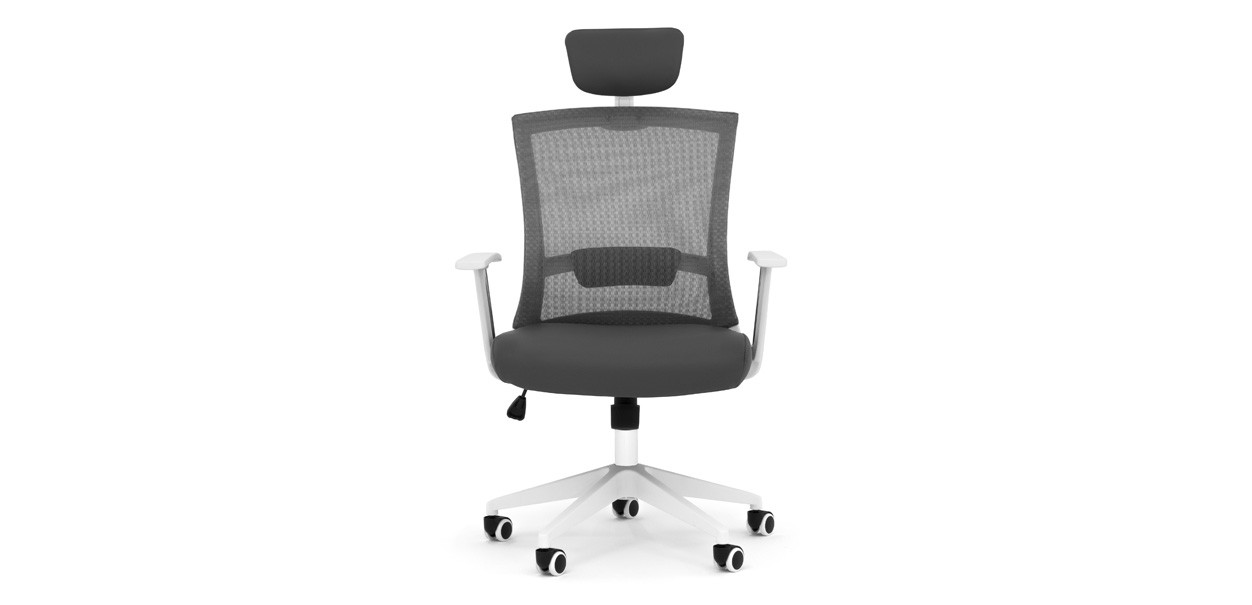 aero5 office chair grey 2