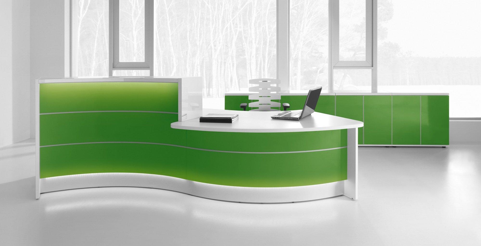 Mdd Valde Counter High Quality Reception Desk Msl